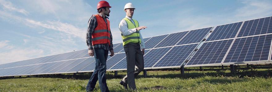 Travaux photovoltaïques